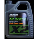 X2 10w40 semi-synthetic motor oil (5л)